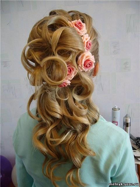прически на длинные волосы киев